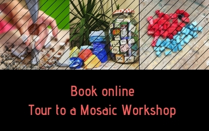 Guided tour of a Mosaic Workshop